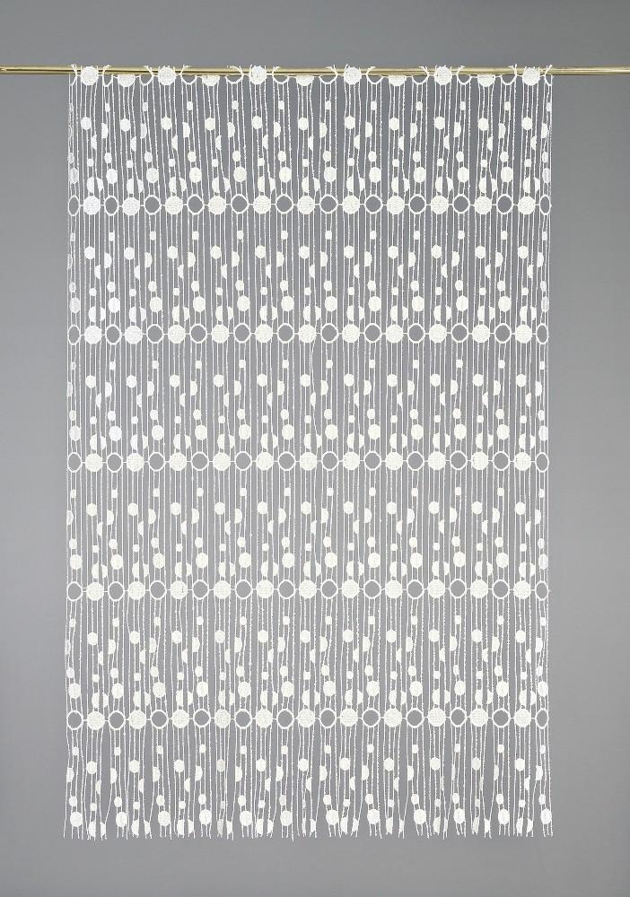 Laize modulable macramé motifs ronds 65 cm