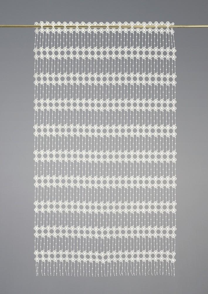 Laize modulable macramé motifs fleurs 45 cm