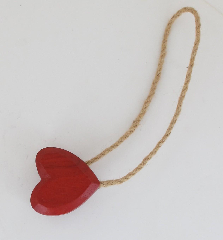 Embrasse bois aimantee tresor rouge