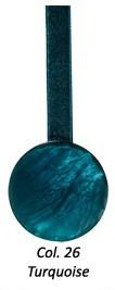Magnet rond aimanté Bleu