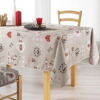 Nappe Rectangle Chouetti Lin Toucher Soft