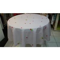 Nappe Ronde Coccinelle