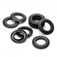 Oeillets noirclipsables plastique au detail Ø 40 mm