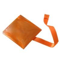 Magnet carré aimanté Orange
