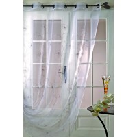 Voilage Organza Chantilly Bordé 200x240cm