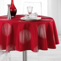Nappe Ronde Atome Rouge