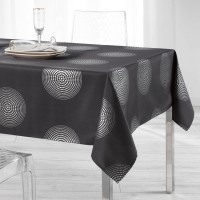 Nappe Rectangle Atome Anthracite