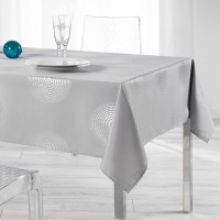 Nappe Rectangle Atome Gris