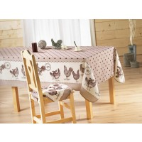 Nappe Rectangle Belle Epoque Choco