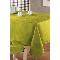 Nappe Rectangle Uni beton cire Menthe