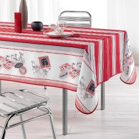 Nappe Rectangle Bistrot chic Toucher soft