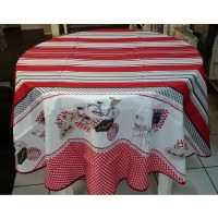 Nappe Ronde Bistrot Chic