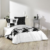 Housse de Couette Black and White
