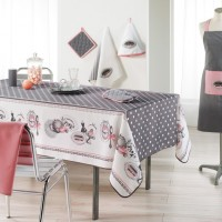 Nappe Rectangle Brunch retro Toucher soft