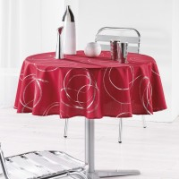 Nappe Ronde Bully Rouge