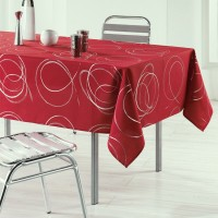 Nappe ovale Bully Rouge