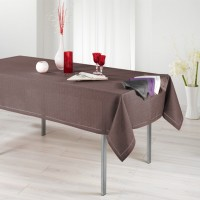 Nappe Rectangle Chambray Elegance Choco