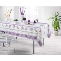 Nappe Rectangle Charme Lilas