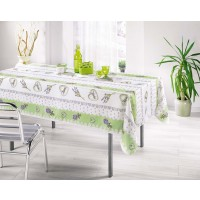 Nappe Rectangle Charme Tilleul