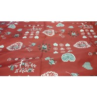 Nappe Rectangle Chouetti Rouge