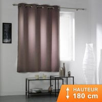 Rideau Occultant Cocoon Taupe 180 cm