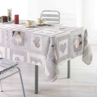 Nappe Rectangle Cosy Coeur Toucher Soft