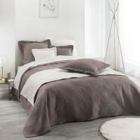 Couvre lit Florencia Taupe