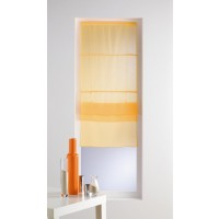 "Store Luminea uni Jaune ""Lot de 2 """