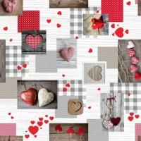 Toile Cirée au metre Valentine