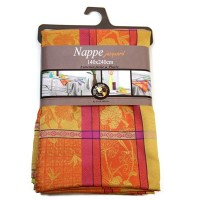 Nappe Rectangle Majorque Tomette Orange
