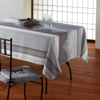 Nappe ovale Manosque Gris