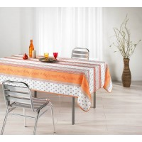 Nappe Carrée Meridional Orange
