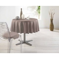 Nappe Ronde Finesse Choco Toucher Soft