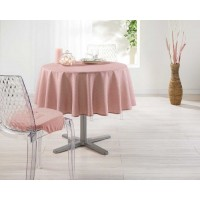 Nappe Ronde Finesse Rose Toucher Soft