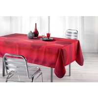 Nappe Rectangle Kosmo Rouge