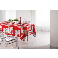 Nappe Rectangle Polly Rouge