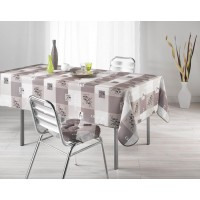 Nappe Rectangle Provencia Taupe