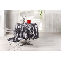 Nappe Ronde Recette Anthracite
