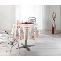 Nappe Ronde Retro Card Toucher Soft