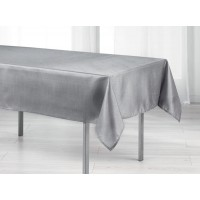 Nappe Rectangle Scintille Pailleté Gris