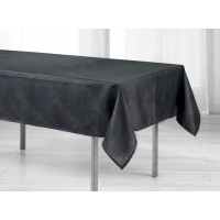 Nappe Rectangle Scintille Pailleté Noir