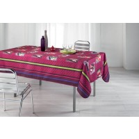 Nappe Rectangle Valentina Framboise