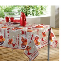 Nappe Toile Cirée Rectangle Cocotte