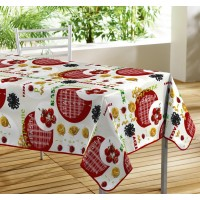 Nappe Toile Cirée Rectangle Pasta