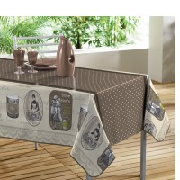 Nappe Toile cirée rectangle Reclame Choco