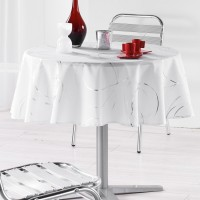 Nappe Ronde Bully blanc