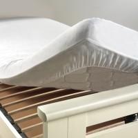 Protège Matelas imperméable (PVC) Molleton Anti bacterien 140x190