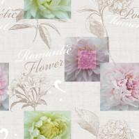 Toile Cirée au metre Romantic Flower
