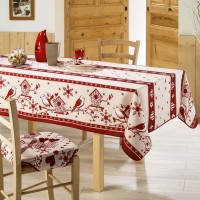 Nappe Rectangle Rossignol Rouge