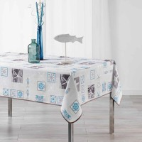 Nappe Rectangle St Malo blanche